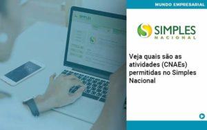 Veja Quais São As Atividades Cnaes Permitidas No Simples Nacional Organização Contábil Lawini - PV Assessoria Contábil | Contabilidade no Rio de Janeiro