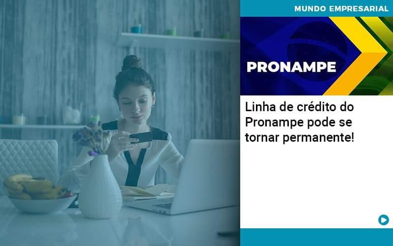 Linha De Credito Do Pronampe Pode Se Tornar Permanente Organização Contábil Lawini - PV Assessoria Contábil | Contabilidade no Rio de Janeiro